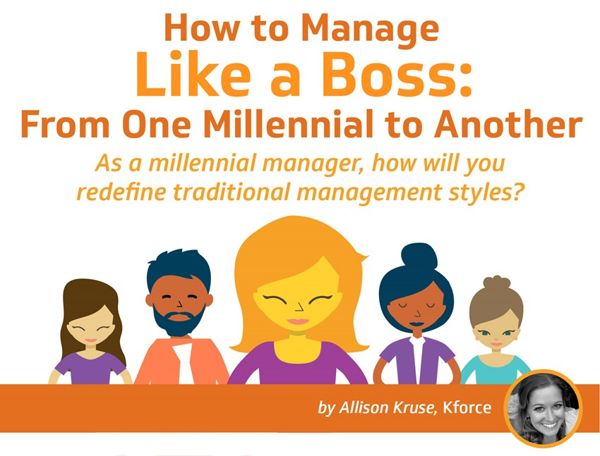 Millennial managers are rewriting traditional management styles